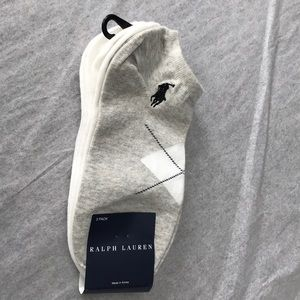 New Ralph Lauren ankle socks size 9-11